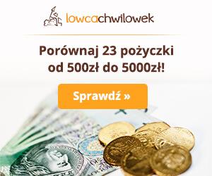 Porównywarka chwilówek Łowca Chwilówek